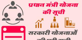 pradhan-mantri-yojana-list
