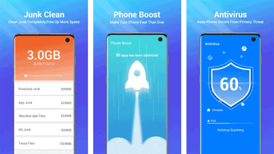 One-Booster-Phone-Cleaner